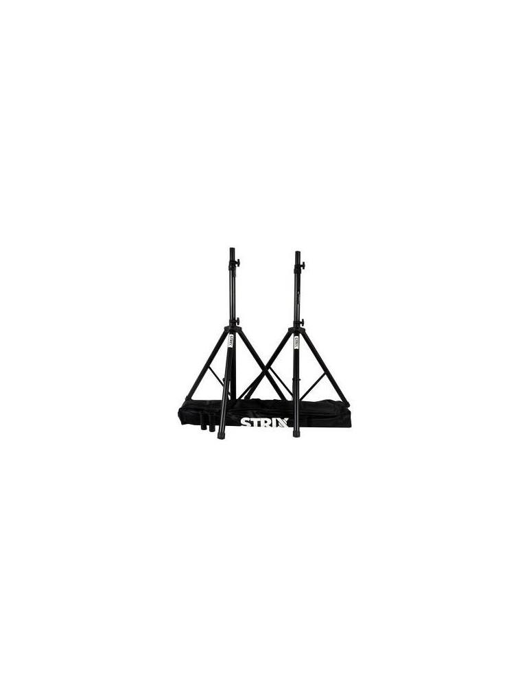 STRIX BY QUIKLOK SS100PACK - COPPIA DI ASTE / SUPPORTI PER CASSE MONITOR + BORSA