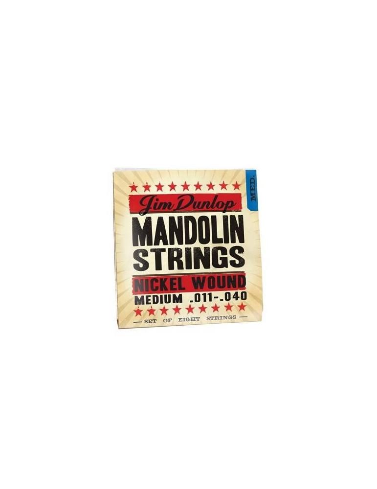 DUNLOP DMN1140 CORDE MANDOLINO NICKEL MEDIUM 8/SET