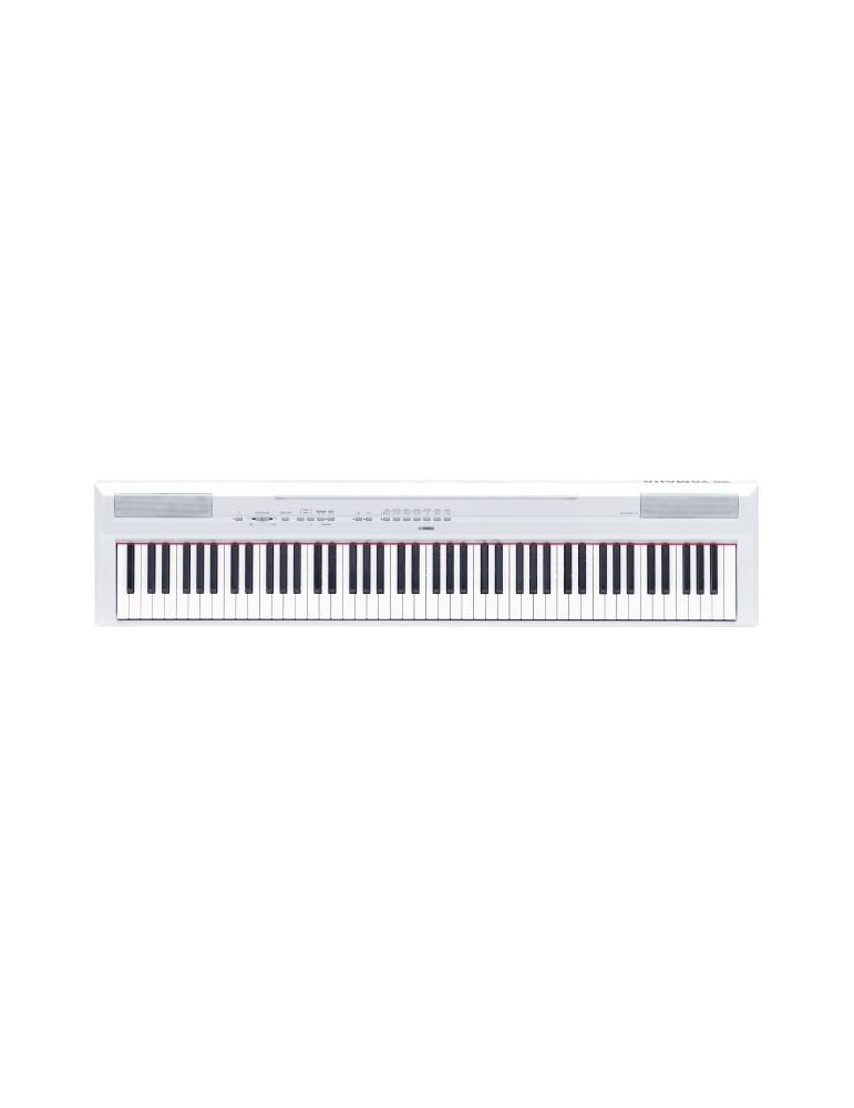 Yamaha P115 PIANOFORTE DIGITALE 88 TASTI PESATI COLORE WHITE