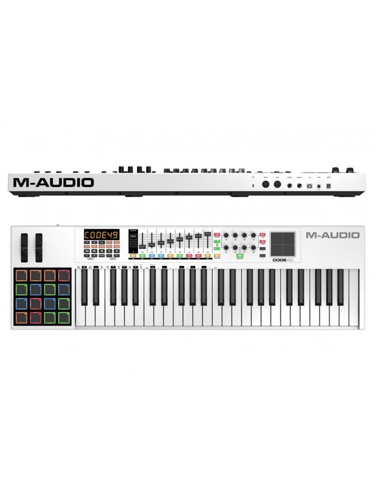 M AUDIO CODE 49  CONTROLLER MIDI USB 49 TASTI CON PAD X/Y