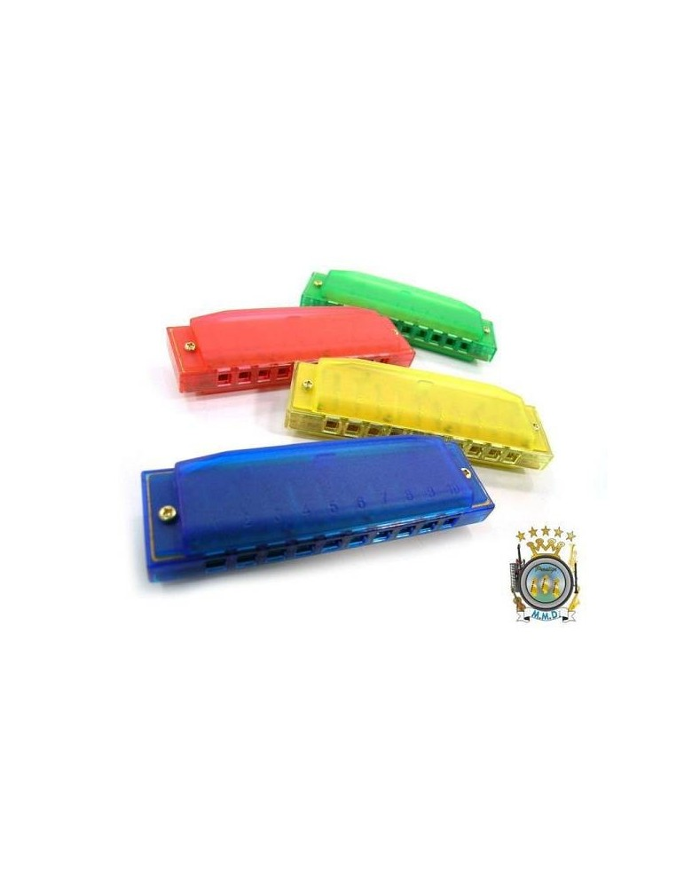 HOHNER HAPPY COLOR HARP COLORI ASSORTITI IDEA REGALO IN DO ARMONICA