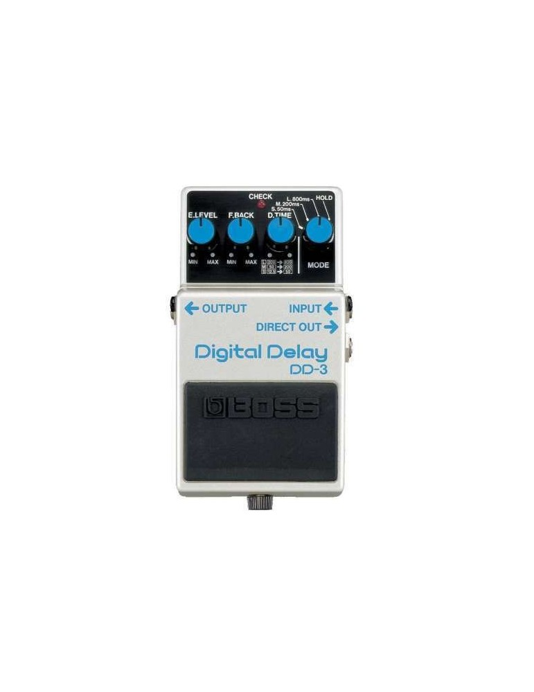Boss dd3 digital delay-eco