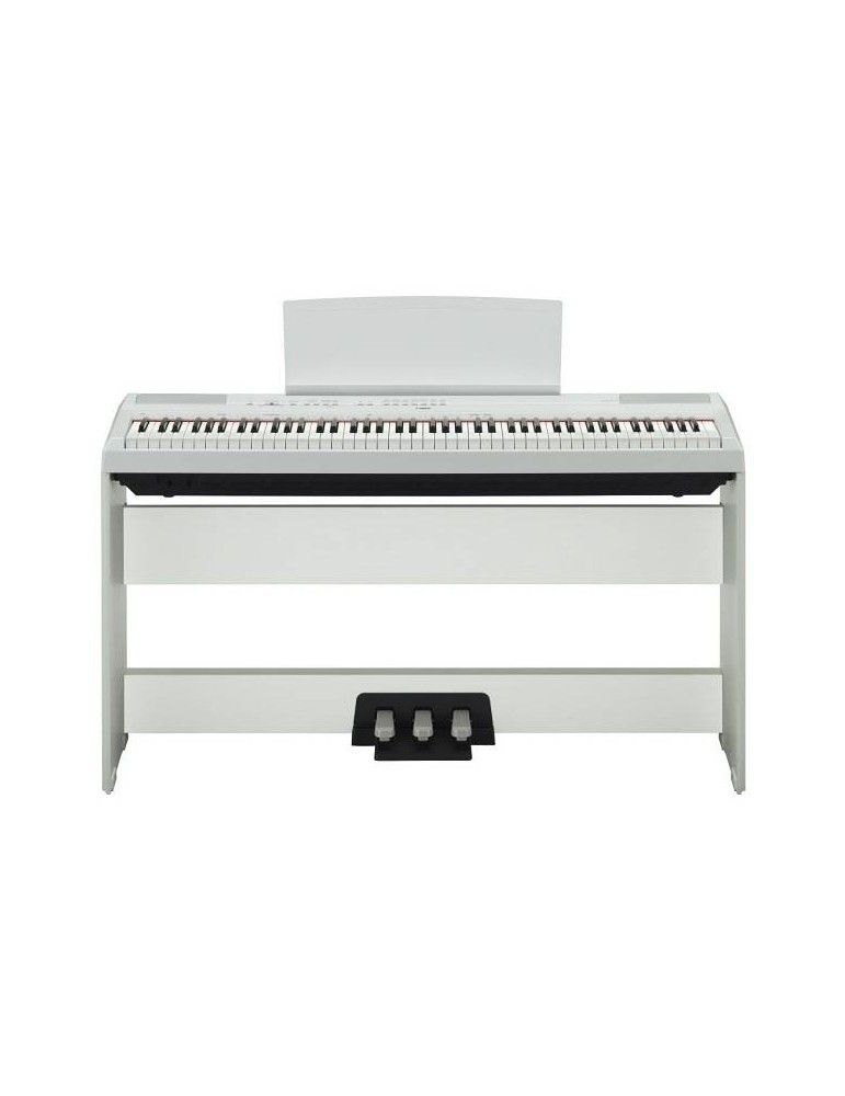 PIANOFORTE DIGITALE Yamaha P115 BIANCO +pedaliera LP5A +stand L85 OFFERTA!!!