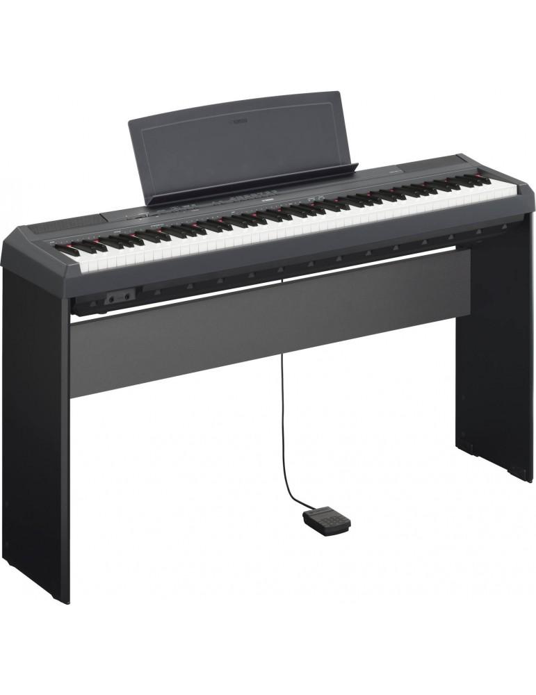 PIANOFORTE DIGITALE YAMAHA P115 NERO+STAND L85 OFFERTA!!!