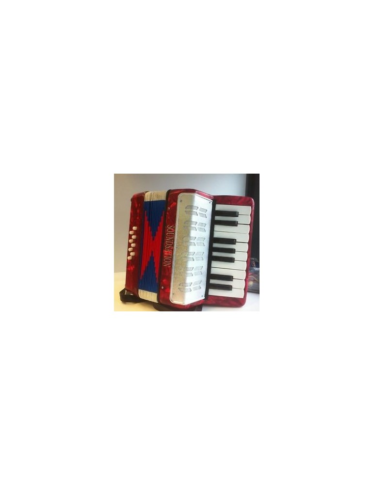 SOUNDSATION mini FISARMONICA 8B 1/2 ST-178B ROSSO