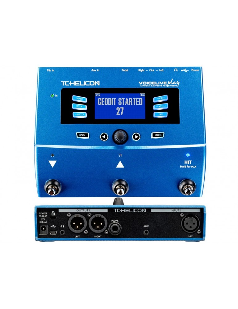 TC HELICON VoiceLive Play - MULTIEFFETTO PER VOCE