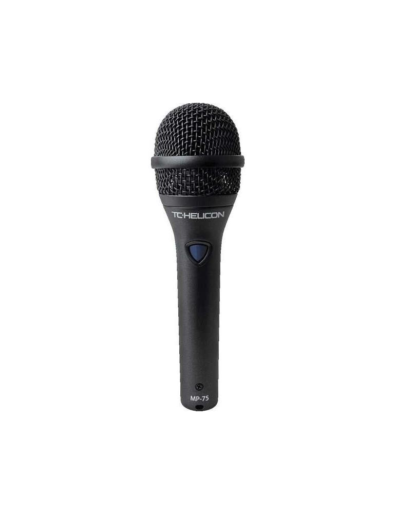 TC HELICON MP-75 - MICROFONO DINAMCO SUPERCARDIOIDE PER VOCE CON MIC CONTROL