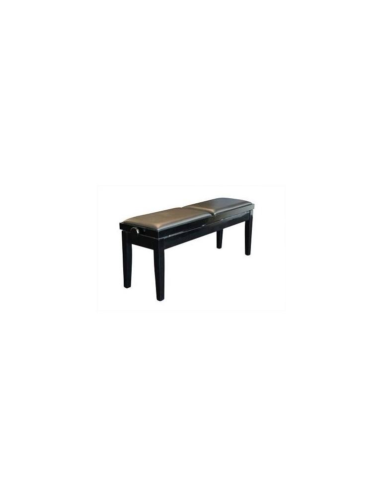 PIANOSOUND 208SKZ PANCA DOPPIA A SEDUTE INDIPENDENTI COLORE NERO