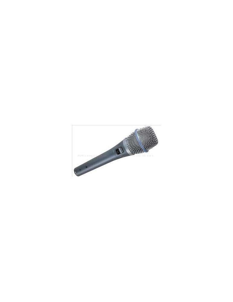 SHURE BETA87A - MICROFONO A CONDENSATORE SUPERCARDIOIDE (garanzia italiana)