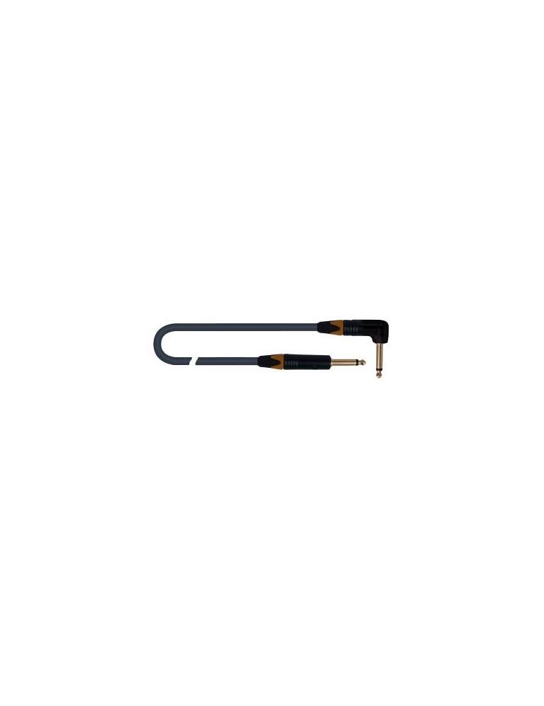 QUIKLOK CAVO VITAMINA C  A5 BK  J / J pipa NEUTRIK 6,3