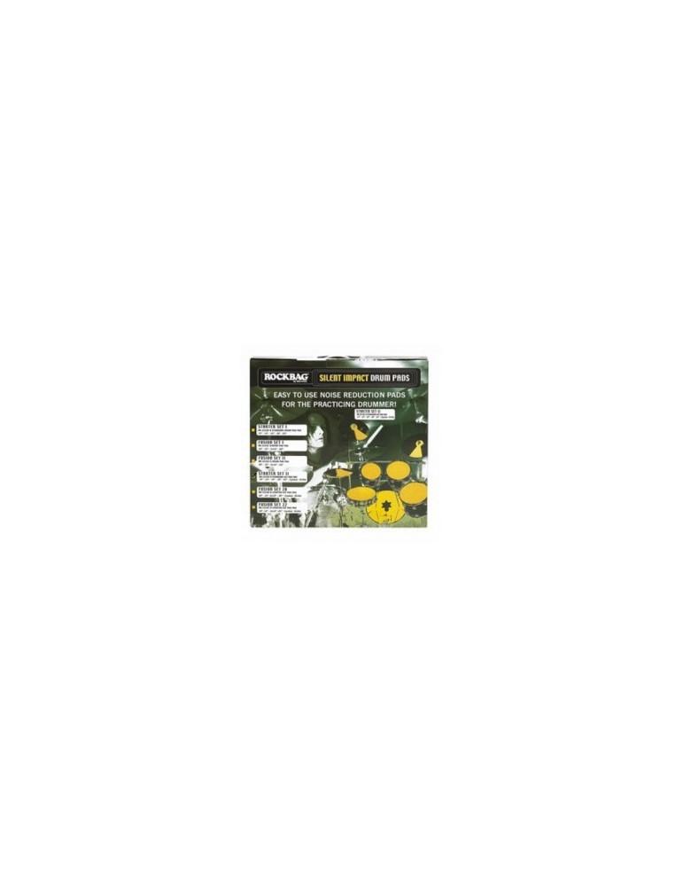 Pad di gomma per Batteria ROCKBAG RB22195B Drum Pad Starter II