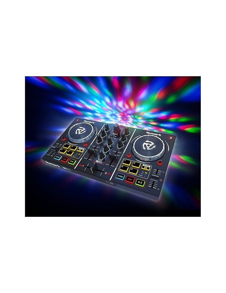 NUMARK PARTY MIX DJ CONTROLLER MP3 CONSOLLE