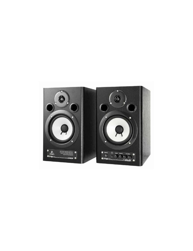 BEHRINGER MS40 DIGITAL MONITOR SPEAKERS COPPIA 40W