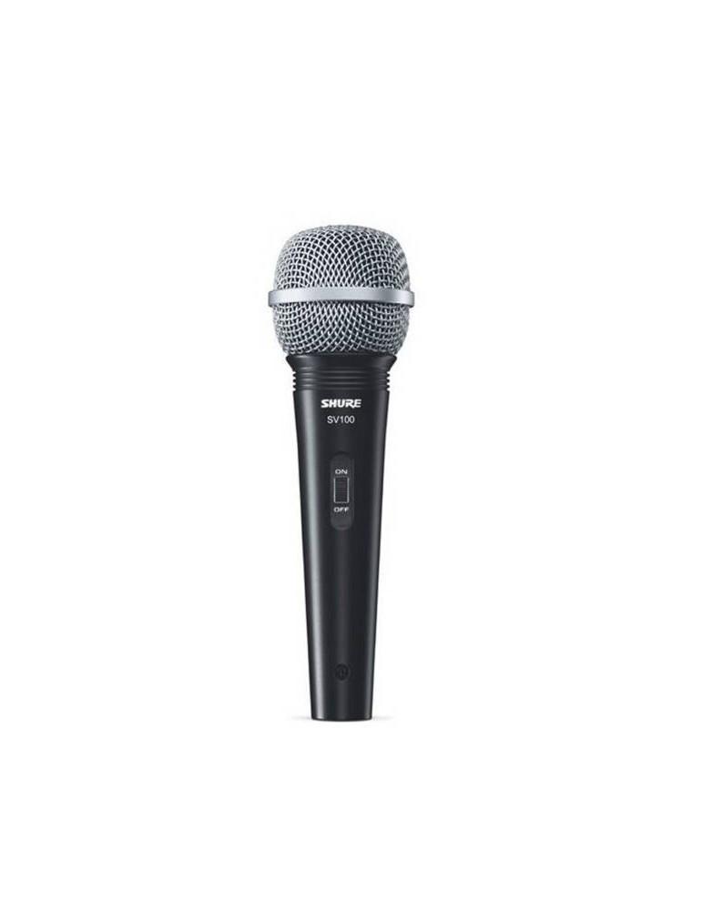microfono Shure sv100 con cavo XLR/J 5mt