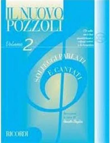 POZZOLI SOLFEGGI PARLATI E CANTATI VOL.2 +CD (ER 2952)