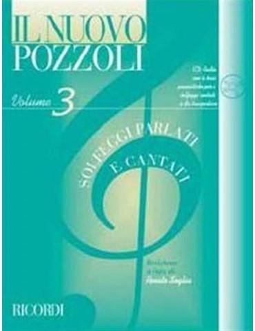 POZZOLI SOLFEGGI PARLATI E CANTATI VOL.3 +CD (ER 2953)
