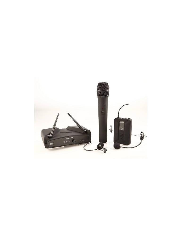 PROEL WM202 KIT radiomicrofono uhf