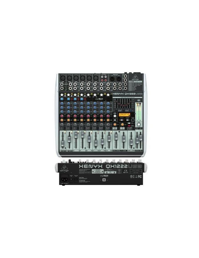 mixer BEHRINGER XENYX QX1222 USB