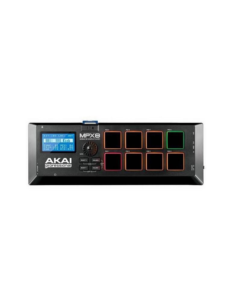 Akai mpx8 MIDI CONTROLLER USB A PAD PER CAMPIONI SD
