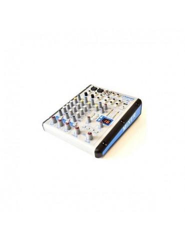TECHNOSOUND MF41 MIXER 4 CANALI CON EFFETTI E LETTORE MP3