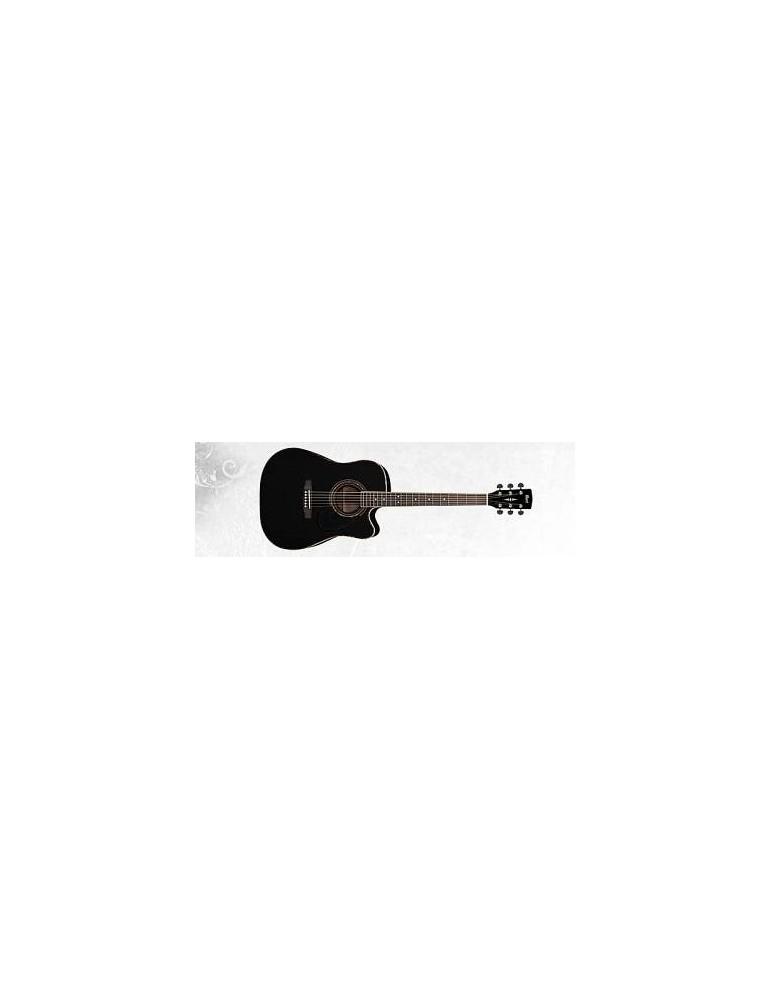 chitarra acustica elettrificata Cort ad880ce nera