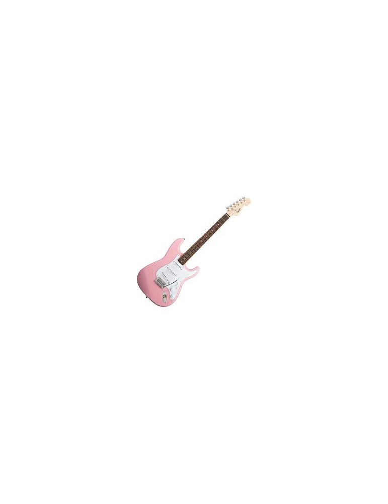 chitarra elettrica Squier by Fender Bullet stratocaster PINK