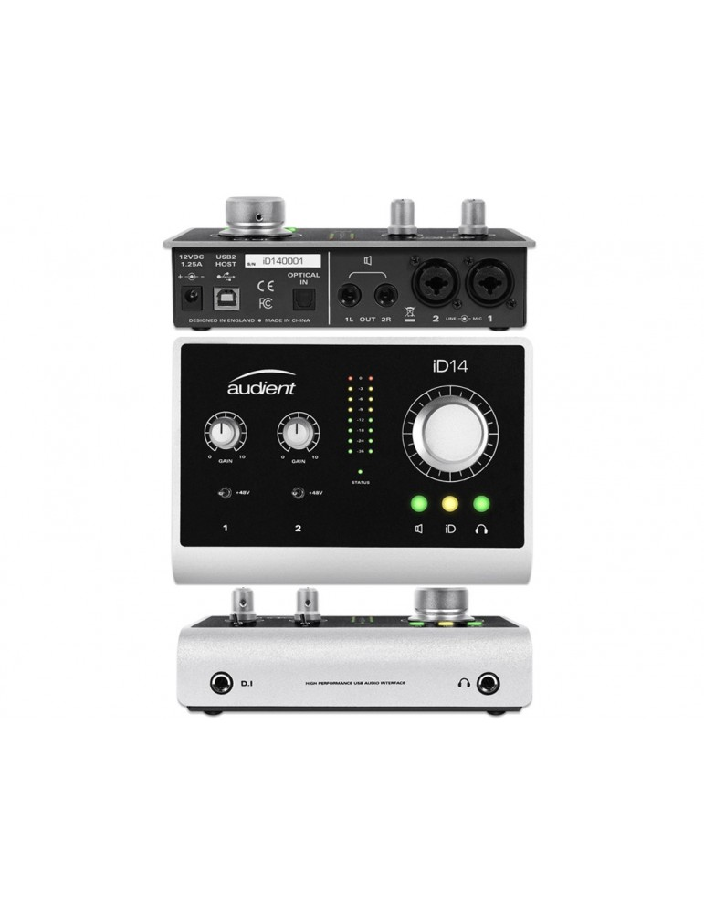 AUDIENT ID14 - INTERFACCIA AUDIO 10-IN / 4-OUT USB