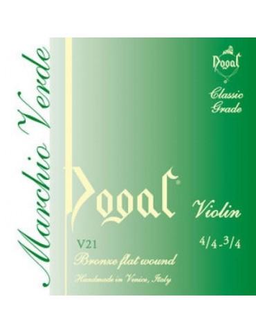 DOGAL V21 - MUTA SERIE VERDE IN BRONZO PER VL 4/4 - 3/4