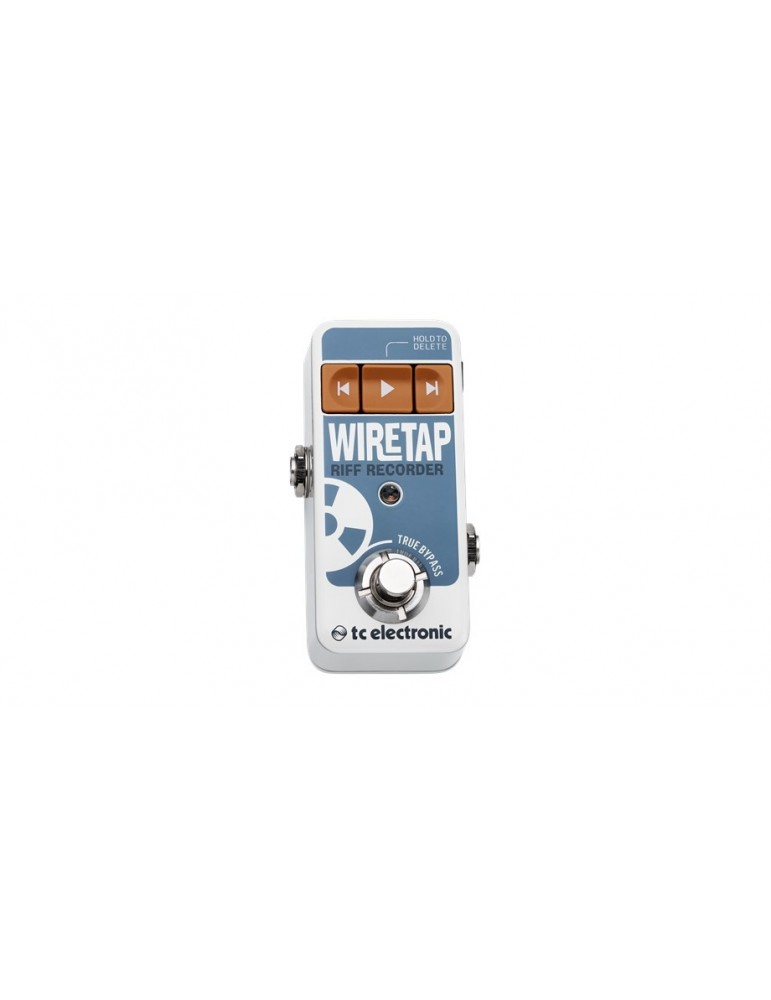 TC Electronic Wiretap Riff Recorder Registratore