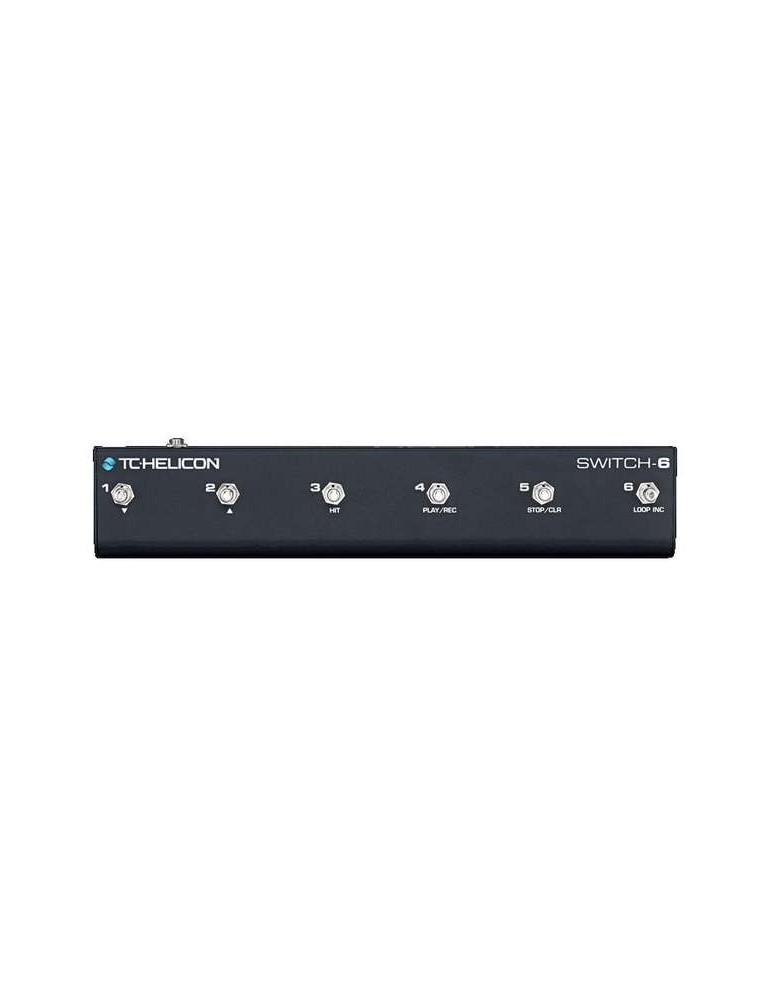TC HELICON SWITCH-6 - FOOTSWITCH 6 PULSANTI PER VOICELIVE