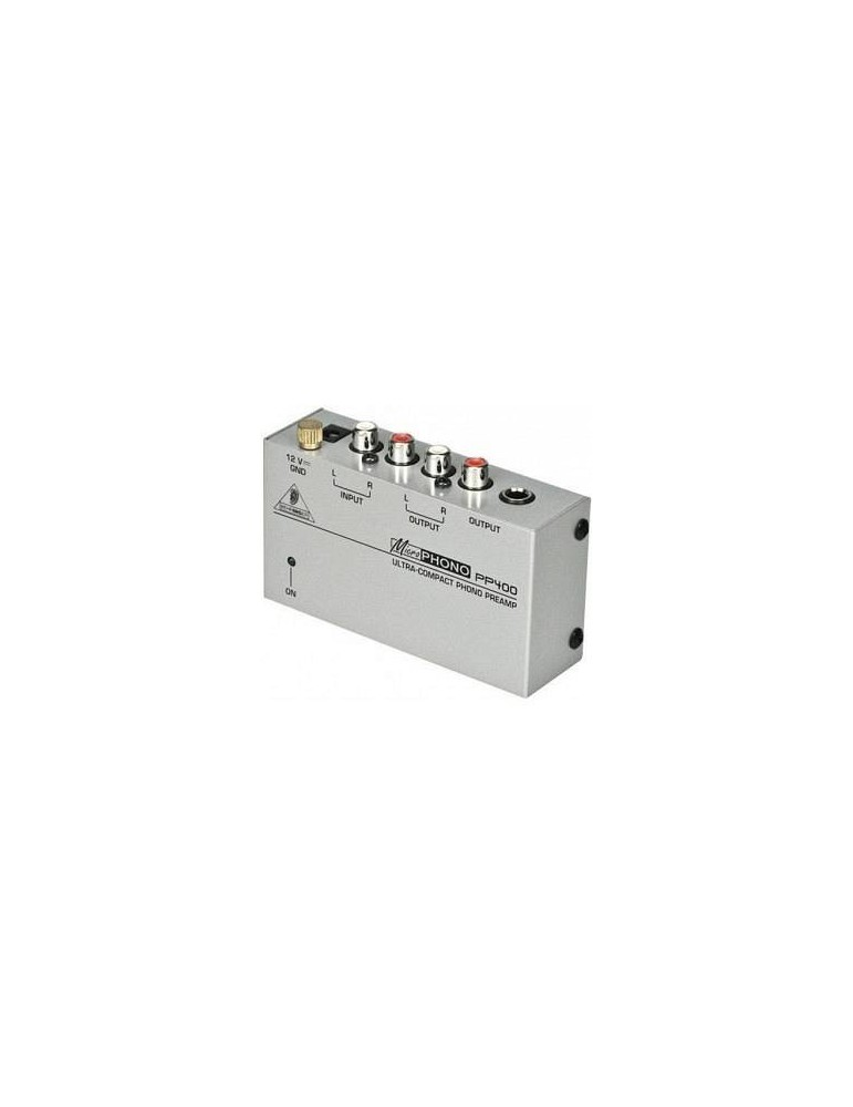 BEHRINGER PP400 - PREAMPLIFICATORE