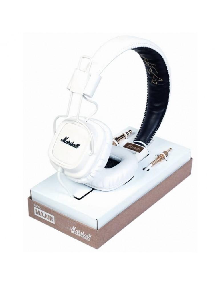 MARSHALL HEADPHONES MAJOR WHITE MK II ACCS 10132 CUFFIA 08191445