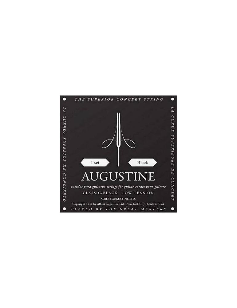 AUGUSTINE CLASSIC BLACK STRINGS - MUTA DI CORDE PER CHITARRA CLASSICA