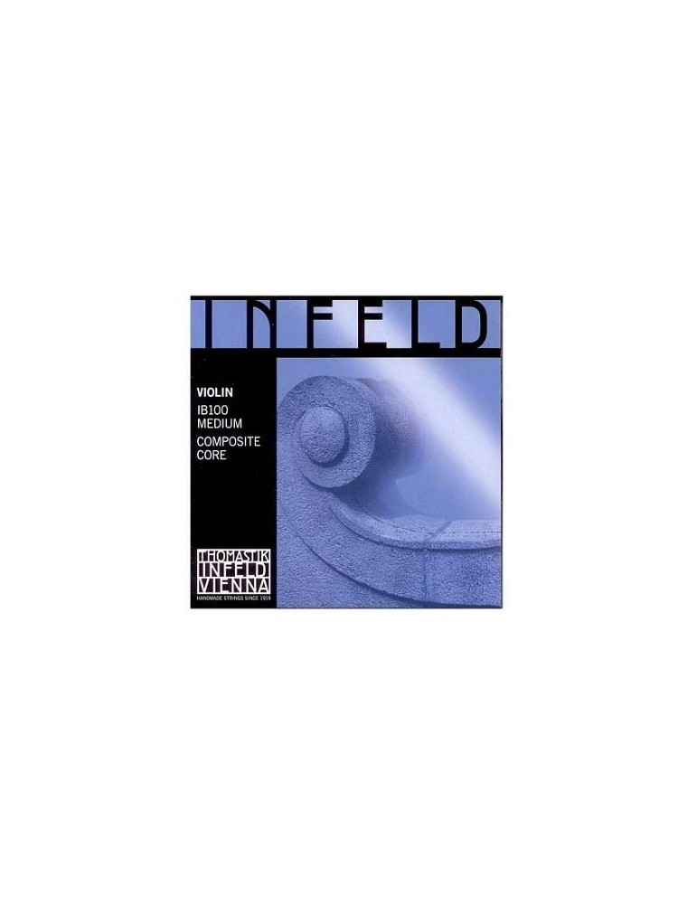 THOMASTIK IB100 INFELD VIOLIN STRINGS SET BLUE MEDIUM
