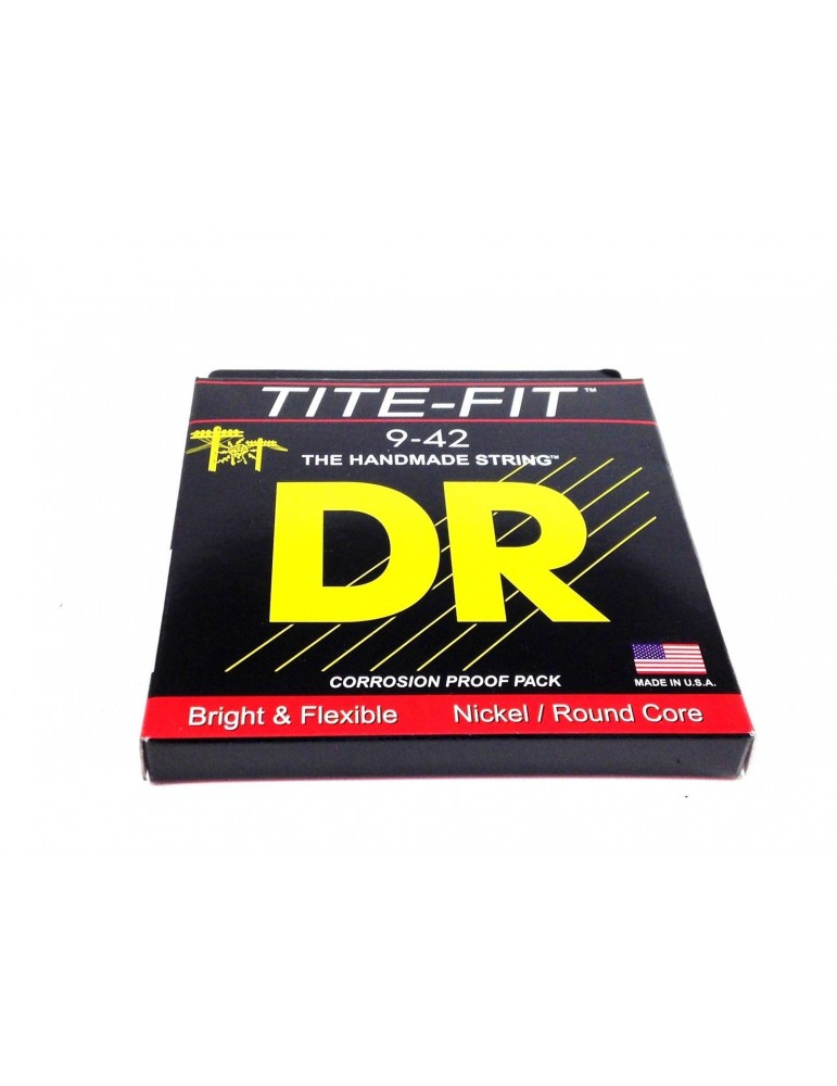 DR LT-9 Tite-Fit Nickel P Electric 9 42 L Lite Tite