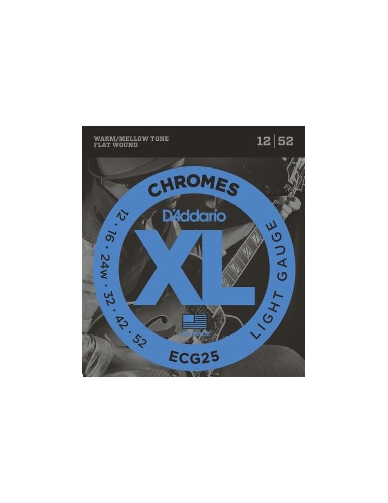 Chromes Flat Wound Light, 12-52