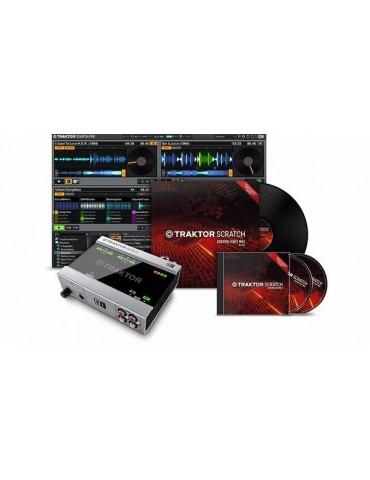 NATIVE INSTRUMENTS TRAKTOR SCRATCH A6 SOFTWARE DIGITAL VINYL INTERFACCIA AUDIO