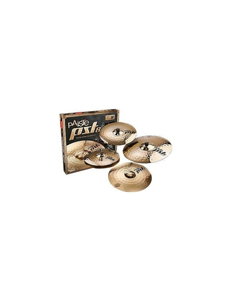 PIATTI PAISTE PST8 UNIVERSAL SET MEDIUM RIDE 20/CRASH 16/HI HAT 14/CRASH 18