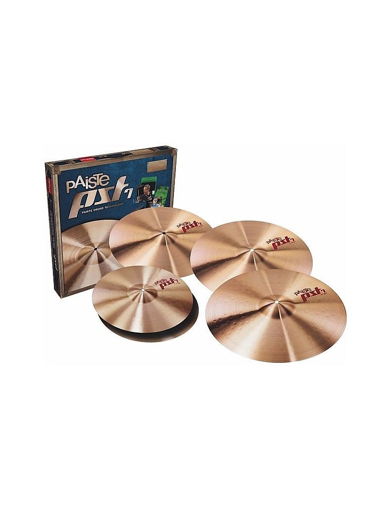 SET PIATTI PAISTE PST-7 MEDIUM UNIVERSAL SET 14/16/18/20
