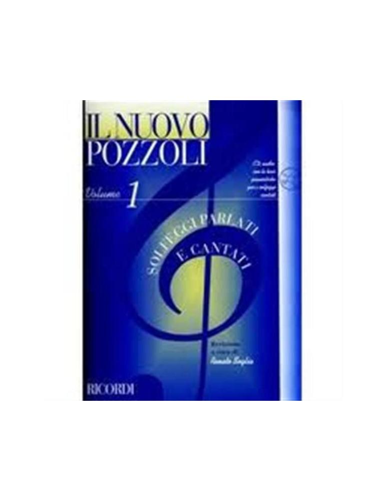 POZZOLI SOLFEGGI PARLATI E CANTATI VOL.1 +CD (ER 2951)