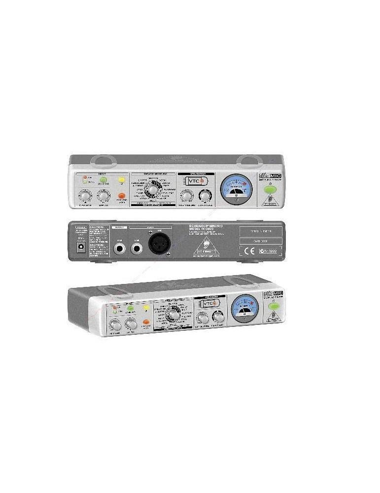 BEHRINGER MIC800 MINIMIC PREAMPLIFICATORE Microfoni$Home & Studio RecordingCO