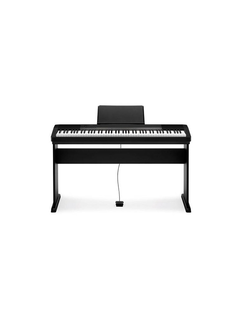 Casio CDP 130 Pianoforte digitale 88 Tasti Pesati (nero) COMPRESO STAND CS44